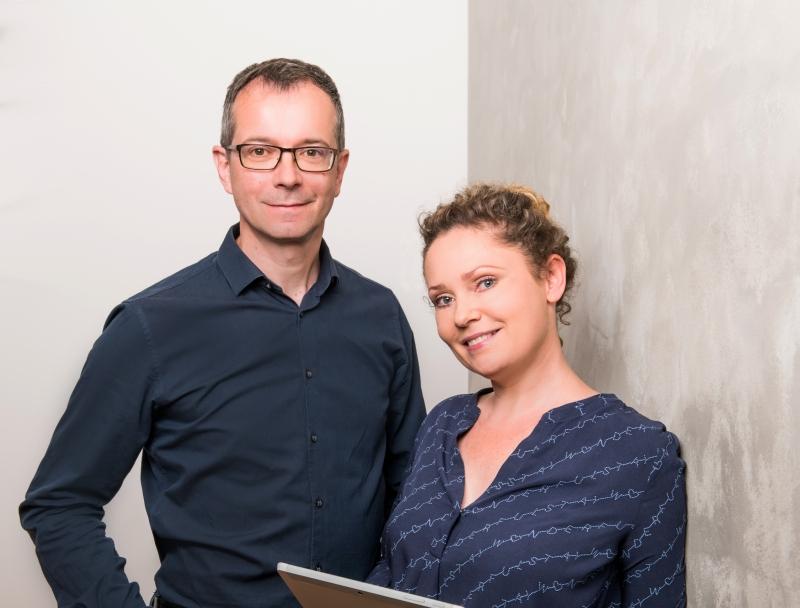 Sandro Freudenberg und Dr. Sandra Stephan